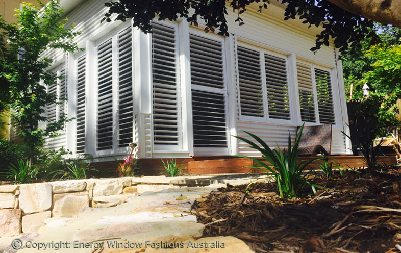 aluminium shutters in Mornington
