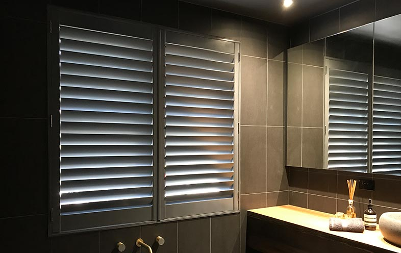 hinged timber shutters in Mornington